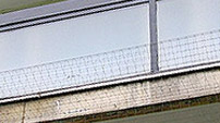 Balcony bird netting
